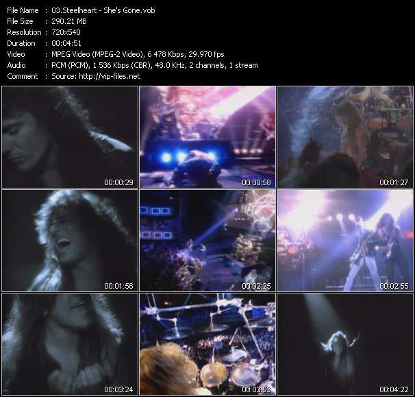 Steelheart video vob