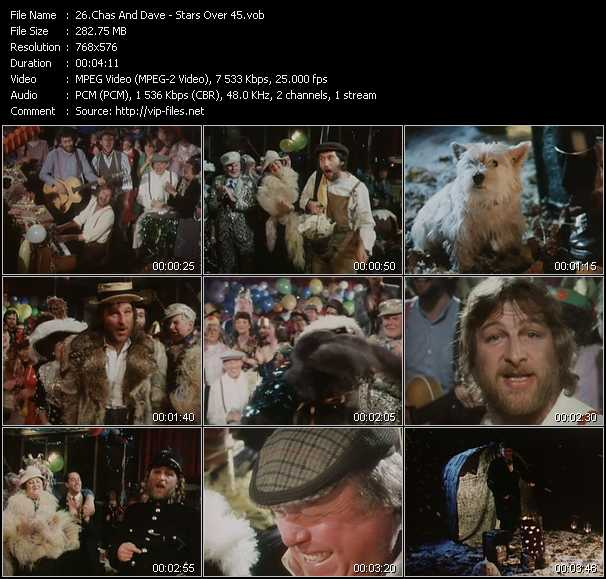 Chas And Dave video vob