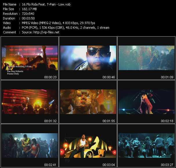 Flo Rida Feat. T-Pain video vob