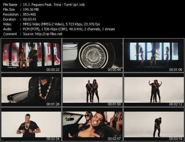 J. Peguero Feat. Trina video vob