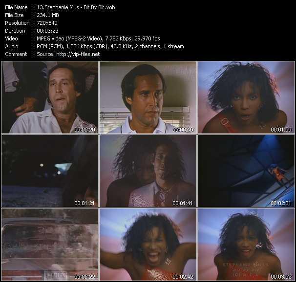 Screenshot of Music Video Stephanie Mills - Bit By Bit