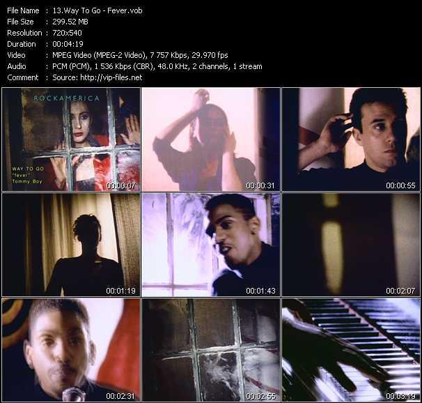 Screenshot of Music Video Way To Go - Fever