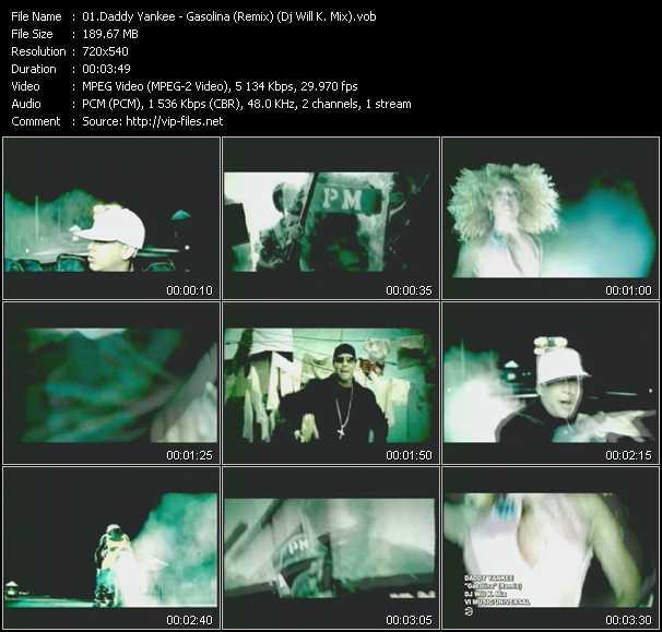 gasolina remix video: