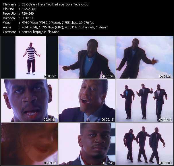 O'Jays video vob