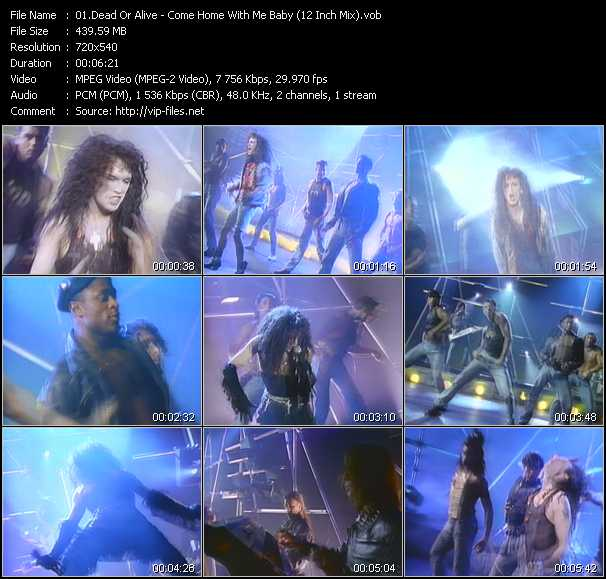 Dead Or Alive video vob