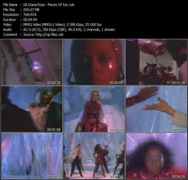 Diana Ross clips musicaux vob