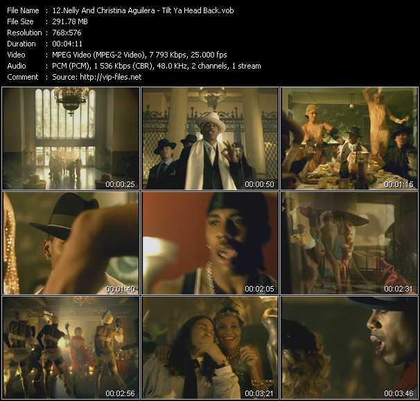 Nelly And Christina Aguilera video vob