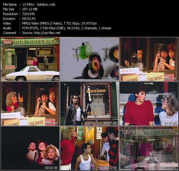 Screenshot of Music Video Flirts - Jukebox