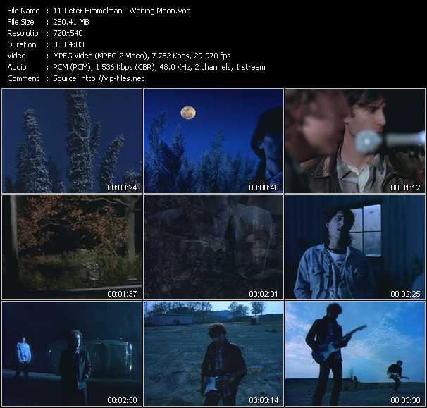 Screenshot of Music Video Peter Himmelman - Waning Moon