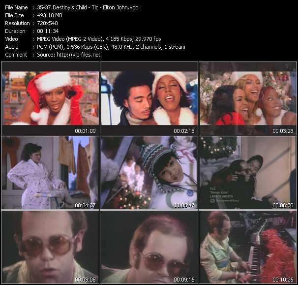 Destiny's Child - Tlc - Elton John video vob