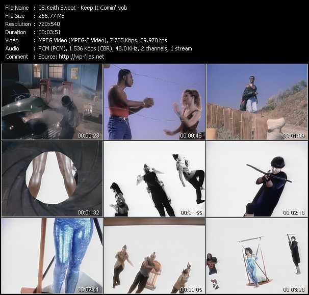 Keith Sweat video vob