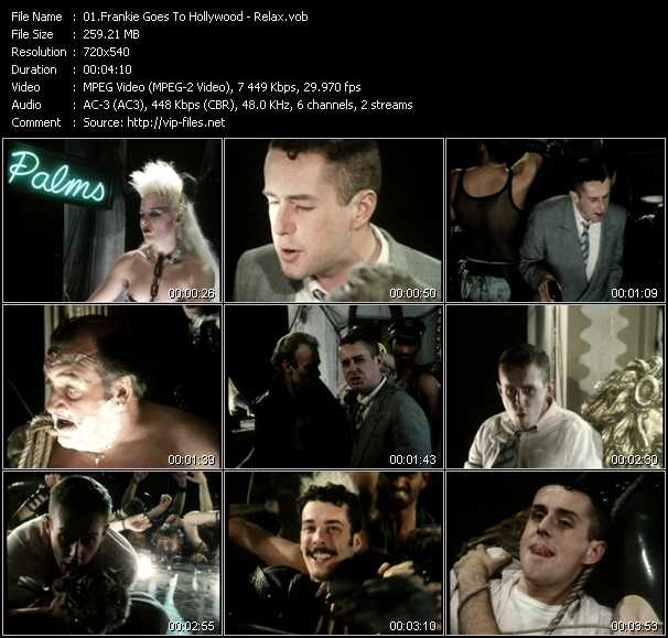 relax frankie goes to hollywood