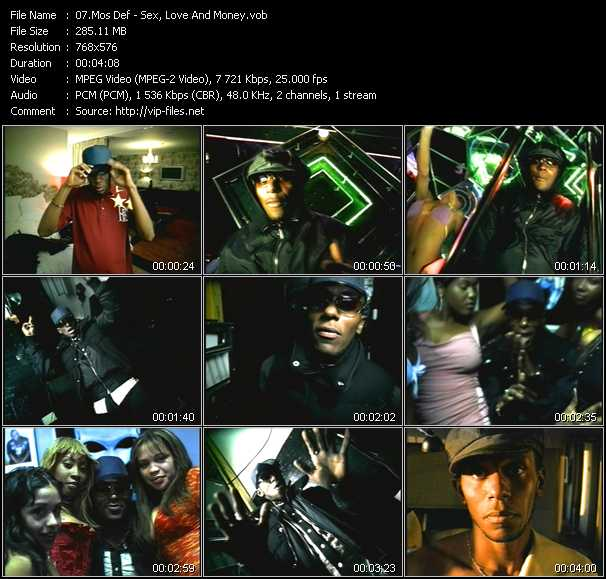 Mos Def video vob