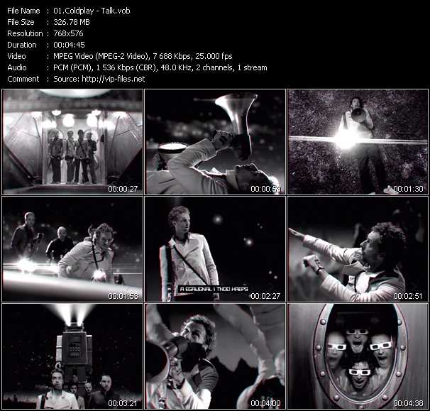 Coldplay Video Vob 92831