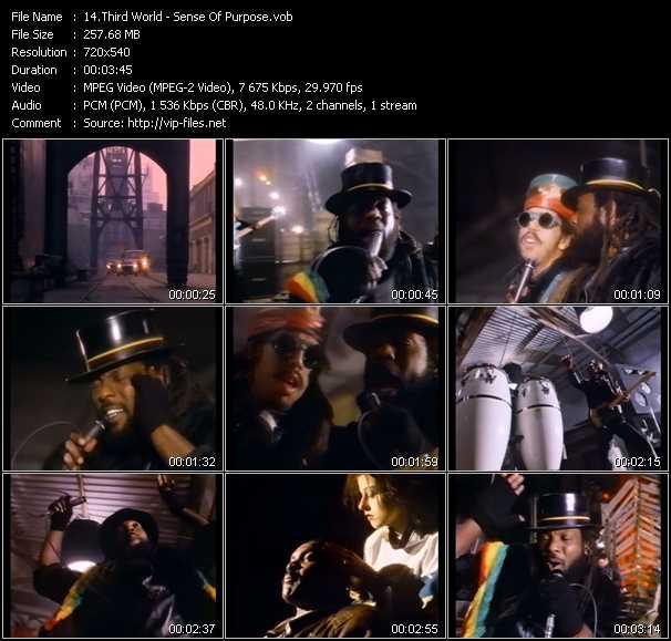Screenshot of Music Video Third World - Sense Of Purpose