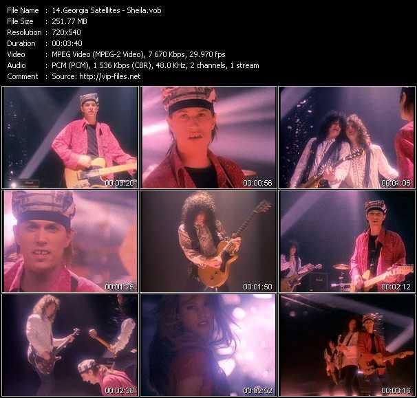 Screenshot of Music Video Georgia Satellites - Sheila