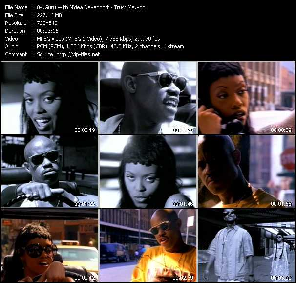 Screenshot of Music Video Guru With N'dea Davenport - Trust Me