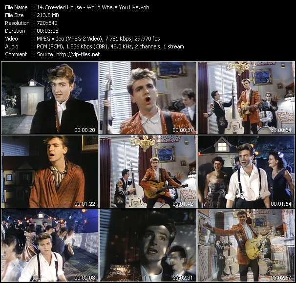 Crowded house world where you live download music for House music 1987