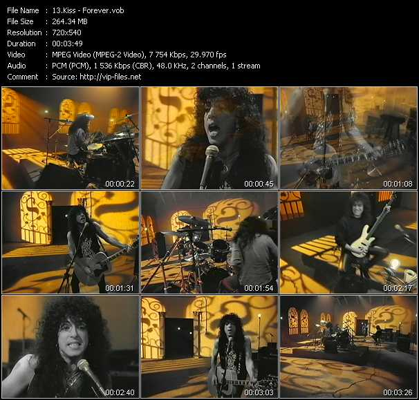 Kiss video vob