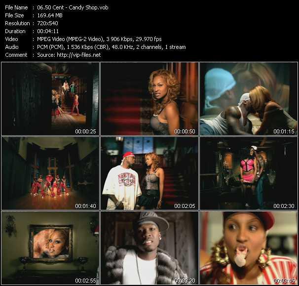 50 Cent clips musicaux vob