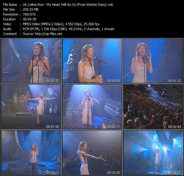 Download Celine Dion My Heart Will Go On: My Heart Will Go On (From Wetten Dass