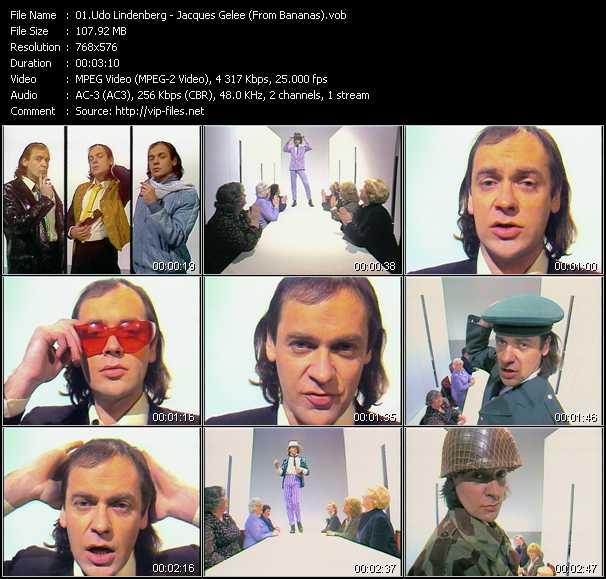 Udo Lindenberg video vob