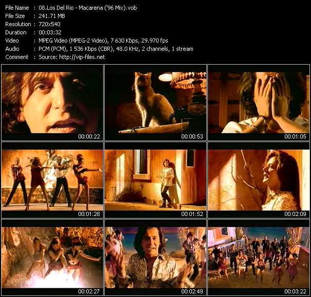 Screenshot of Music Video Los Del Rio - Macarena ('96 Mix)