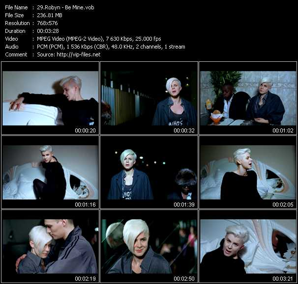 Robyn video vob