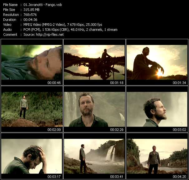 Jovanotti video vob