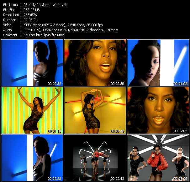 Kelly Rowland video vob