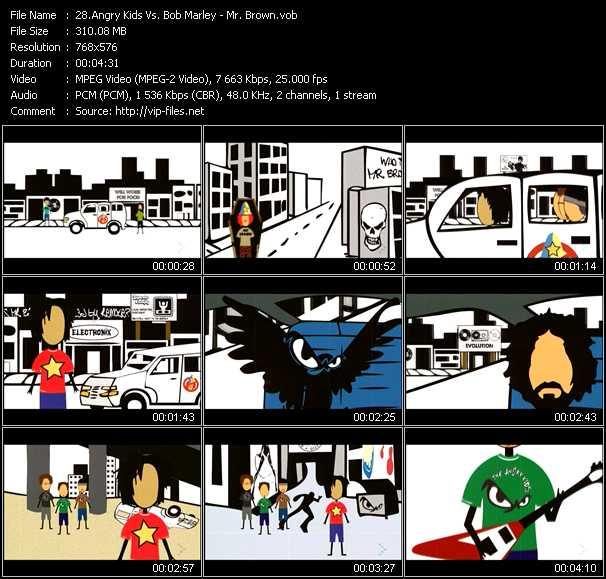 Angry Kids Vs. Bob Marley video vob