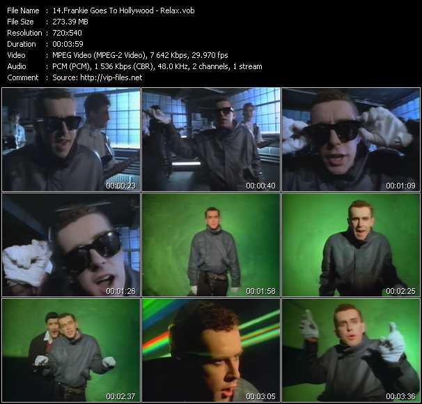 Screenshot of Music Video Frankie Goes To Hollywood - Relax