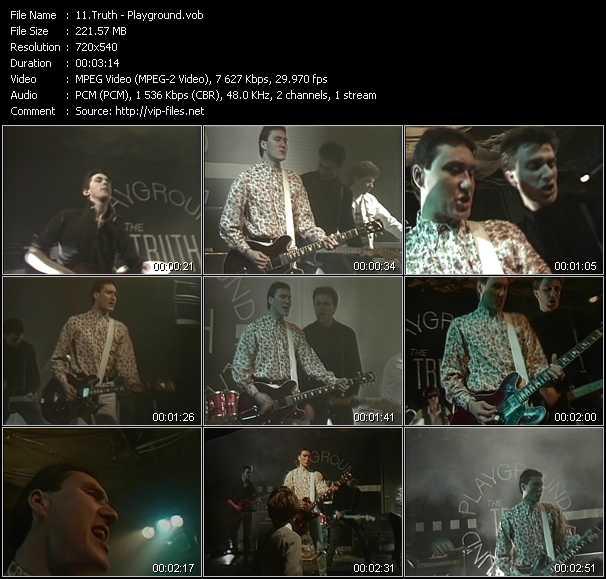 Screenshot of Music Video Truth - Playground
