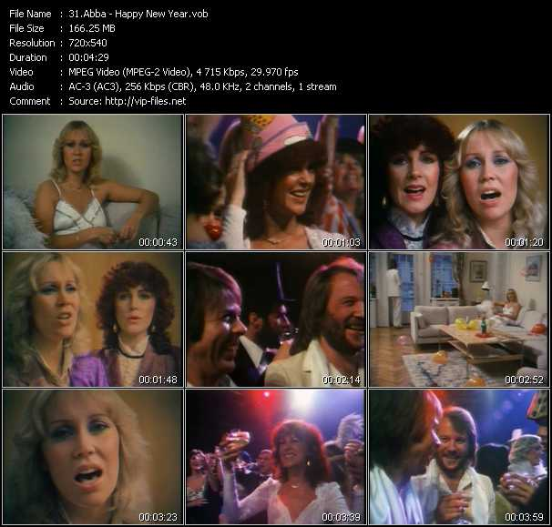 Abba video vob