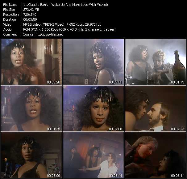 Screenshot of Music Video Claudja Barry - Wake Up And Make Love With Me
