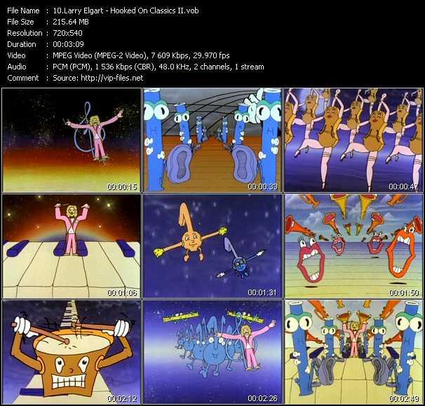Screenshot of Music Video Larry Elgart - Hooked On Classics II