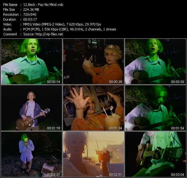 Beck video vob