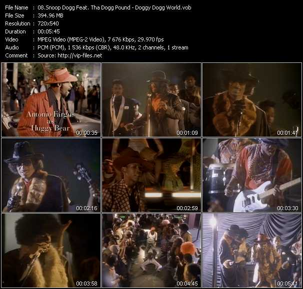 Snoop Dogg Feat. Tha Dogg Pound video vob