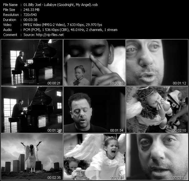 Billy Joel video vob