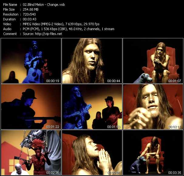 Blind Melon video vob
