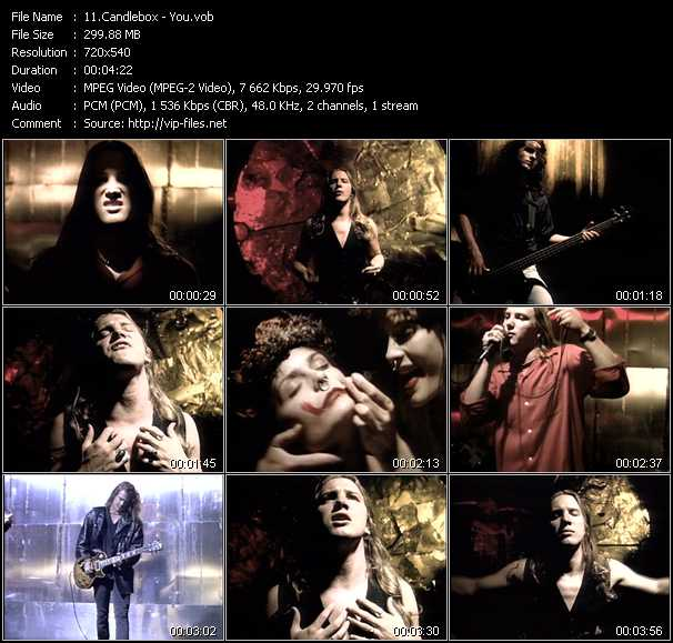 Candlebox video vob