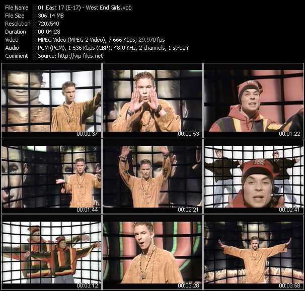 East 17 (E-17) video vob