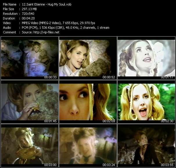 Screenshot of Music Video Saint Etienne - Hug My Soul