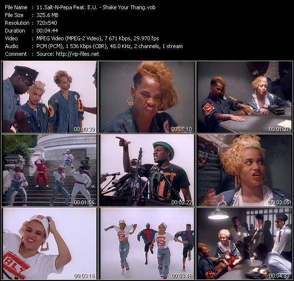 Salt-N-Pepa Feat. E.U. video vob