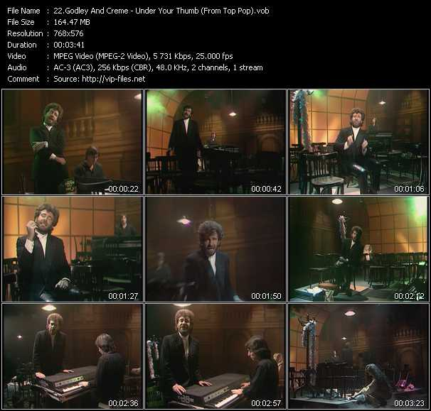Godley And Creme video vob