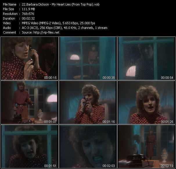 Barbara Dickson video vob
