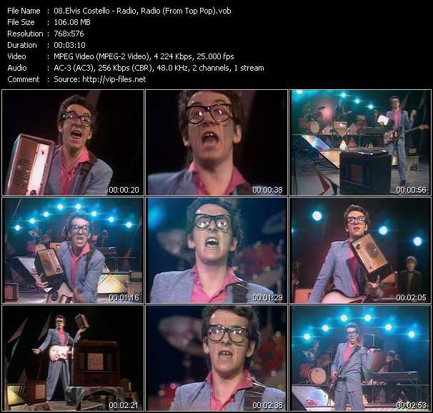 Elvis Costello video vob