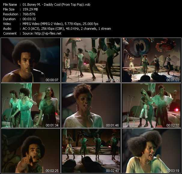 Boney M. video vob