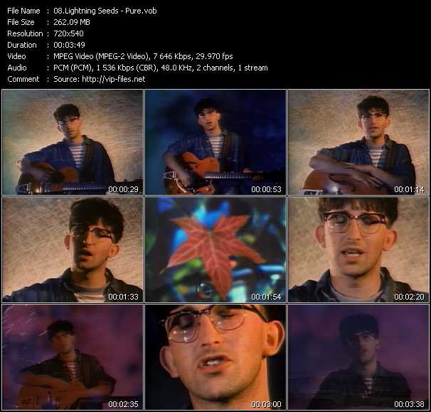 Lightning Seeds video vob