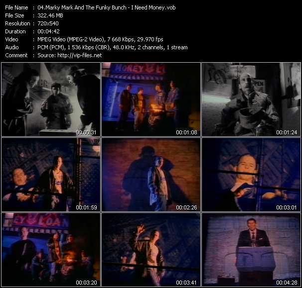 Marky Mark And The Funky Bunch video vob
